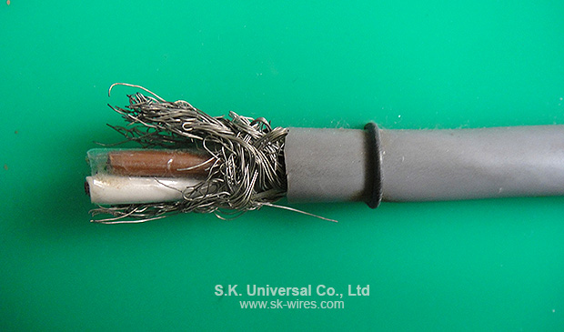LIYCY FLEXIBEL DATA CABLE WITH COPPER BRAID