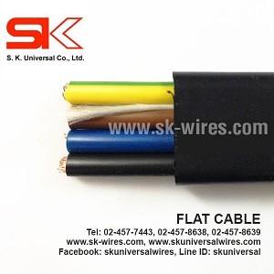 สายไฟแบน Flat Cable