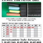 ราคาตั้ง สายไฟ Flat Cable (Price List) ติดตั้งระบบเครนไฟฟ้า