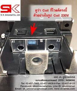 Magnetic 3TF51 Coil 230V