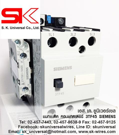 Magnetic Contactor 3TF4522 SIEMENS