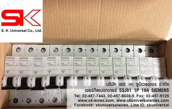 5SJ61 16A CIRCUIT BREAKER Box